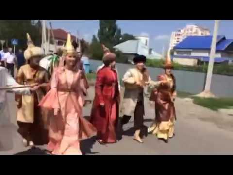 Сватовство по всем традициям и обычаям казахского народа. Талдыкорган.