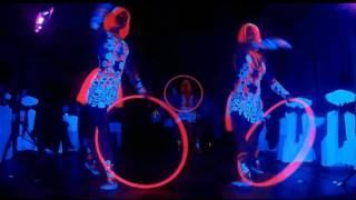 Флюрное гимнастическое шоу Dragonfly Ужгород, Киев, артисты на праздник, свадьба