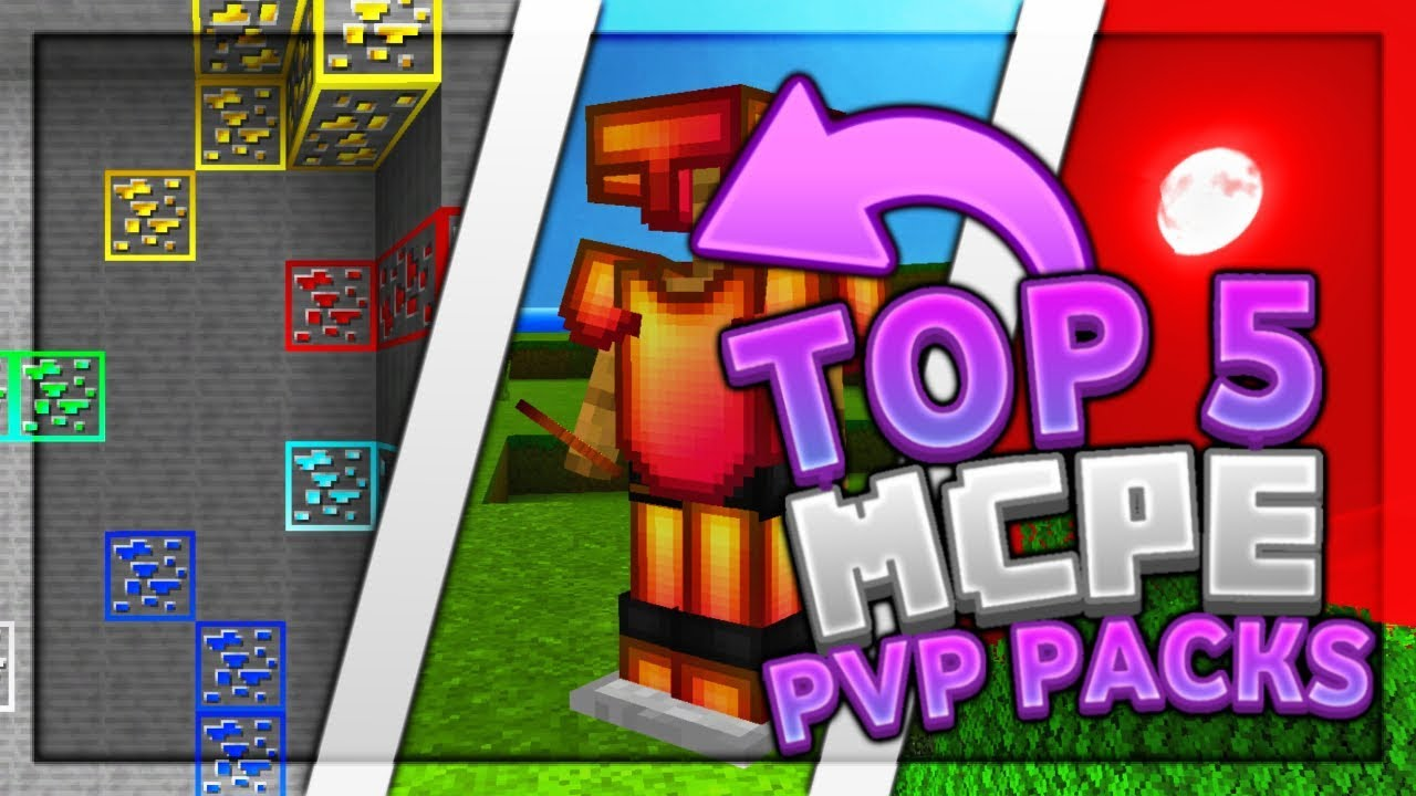 Top 100 MCPE Pvp Texture Packs 100 10.104+ / FPS Boost, UHC, Hypixel /  Minecraft Bedrock Edition