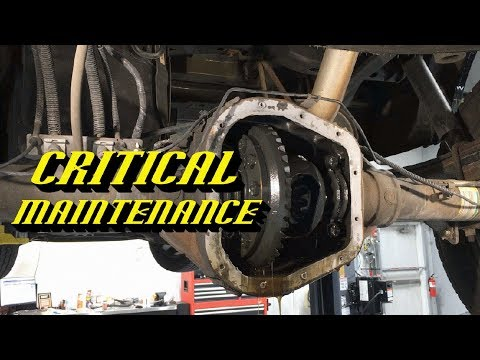 "Ford 8.8"" 9.75"" 10.25"" Rear Differential Service: Fluid Change Procedure"