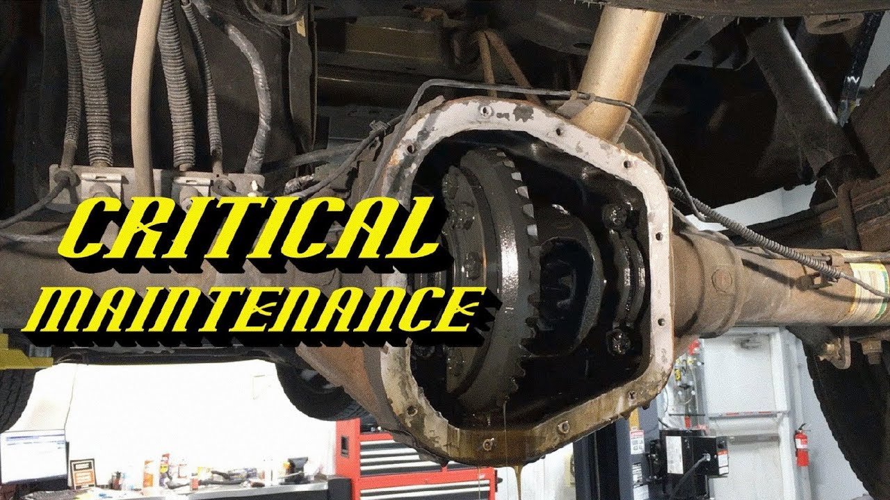 ford expedition rear differential fluid change