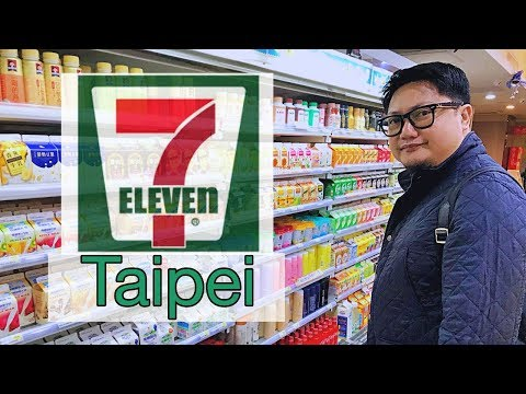 What's Inside 7 Eleven in Taipei - Taiwan