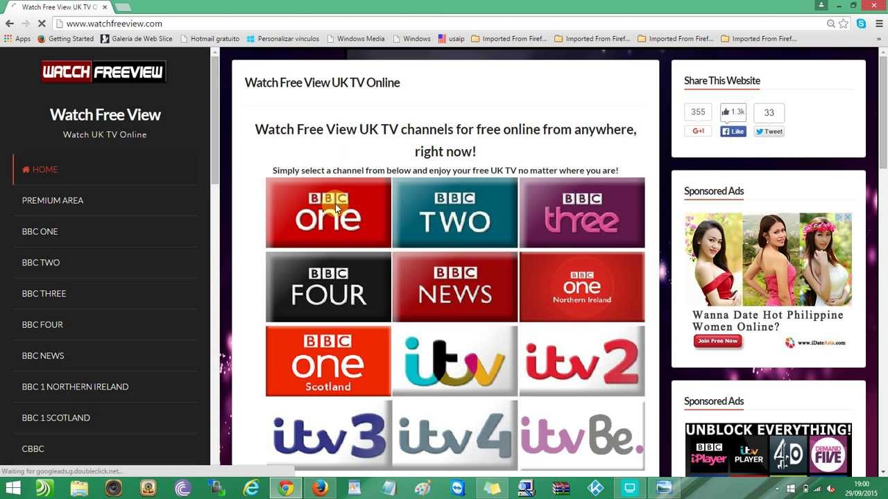 Watch BBC ONE And All British TV Channels For Free Online ...
