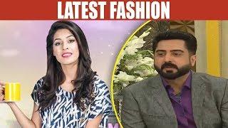 Latest Fashion - Mehekti Morning With Sundas Khan - 8 May 2018 - ATV