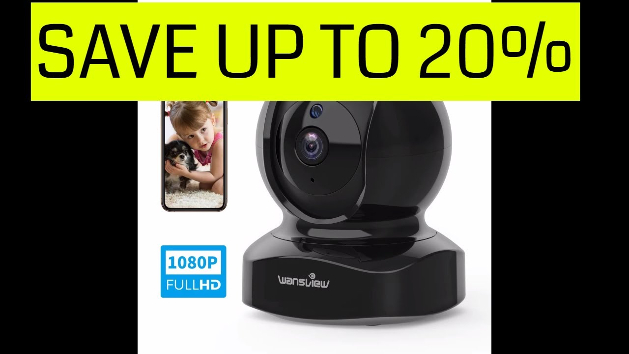 Save Up to 20% IP Camera, Wireless Security Camera 1080P HD