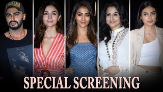 Malaika Arora, Anushka Sharma & Ranveer Singh @Arjun Kapoor's 'India's Most Wanted' Screening