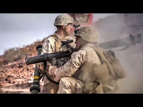 Marines Live-fire Training at Marine Corps Base 29 Palms