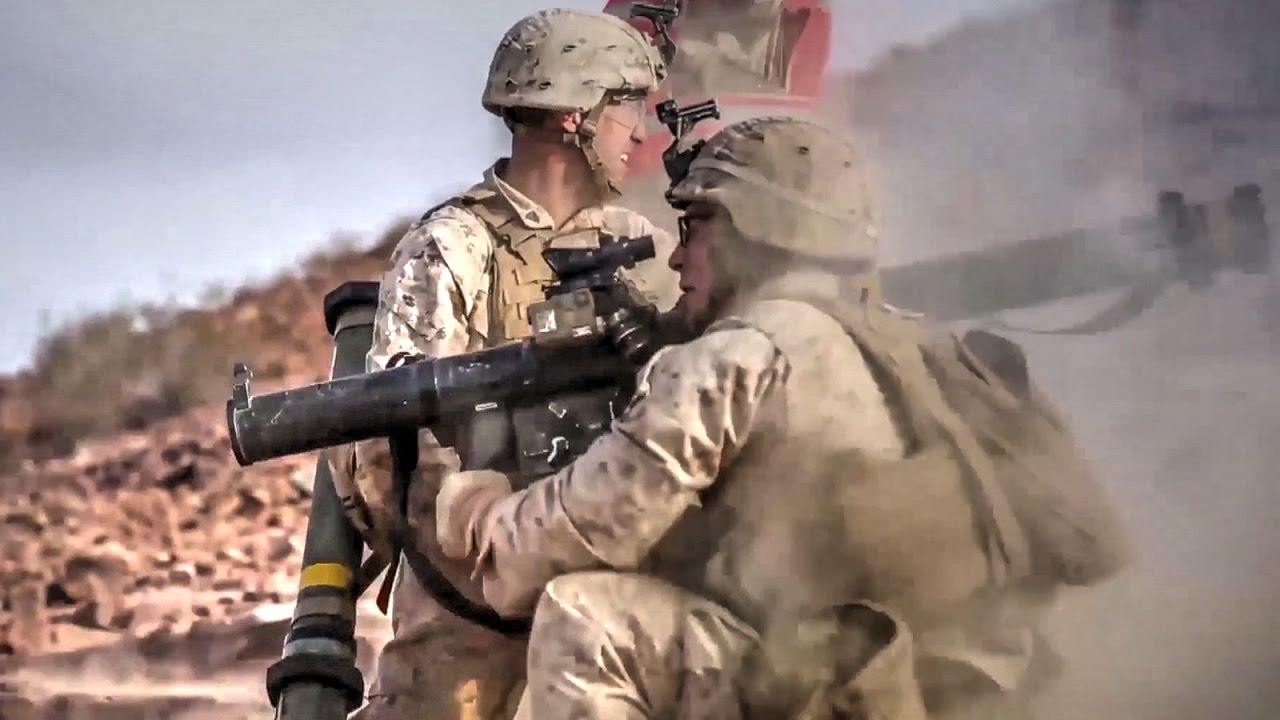 Marines Live-fire Training at Marine Corps Base 29 Palms