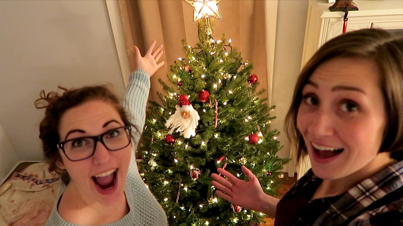 tiny christmas tree lighting youtube