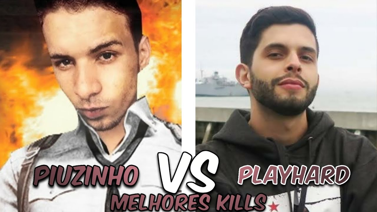 PIUZINHO VS PLAYHARD - Quem é o melhor jogador de Free fire #1