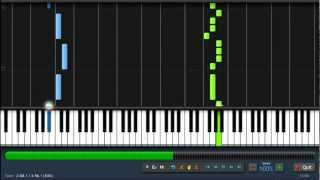 Repeat youtube video Gotye - Somebody That I Used to Know - Easy Piano Tutorial by PlutaX + Sheet Music