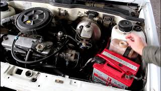 наличие газов в системе охлаждения