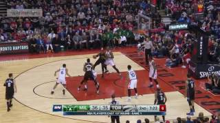 Toronto Raptors vs Milwaukee Bucks   Full Game Highlights   Game 1   April 15  2017   NBA Playoffs