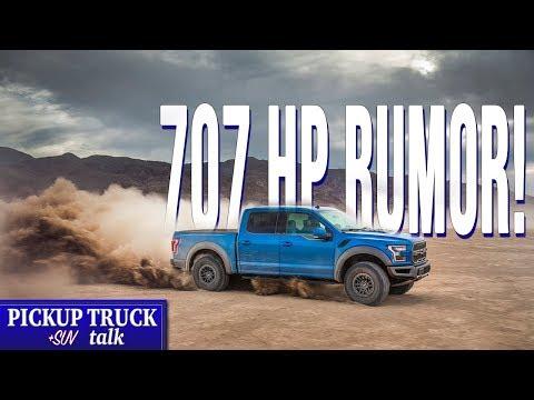 Supercharged V8? Godzilla 7.3L V8? Next-Gen Ford Raptor V8 Rumor