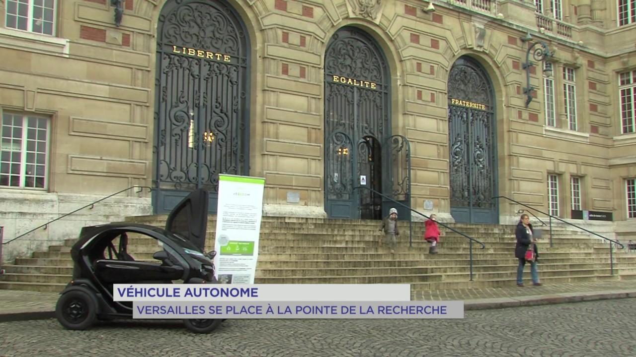 Véhicule autonome : Versailles se place à la pointe de la recherche