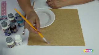 Acrilex - Técnicas - Como utilizar Tinta para Tecido