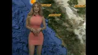 Sandra Bennett - La Diosa del Clima - Televisa Mexicali