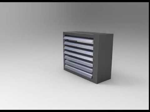 Projekt CAD wizualizacja obudowy blaszanej