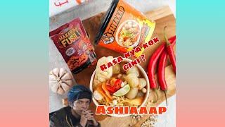 Cobain Makanan Youtuber NO 1 Asia Tengara ASHIAAAP BY ATTA HALILINTAR    KENAPA RASANYA BEGINI !!!!!