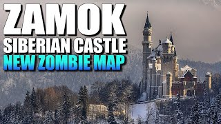ZAMOK SIBERIAN CASTLE - New Zombie Map! (Call of Duty Zombies Map)