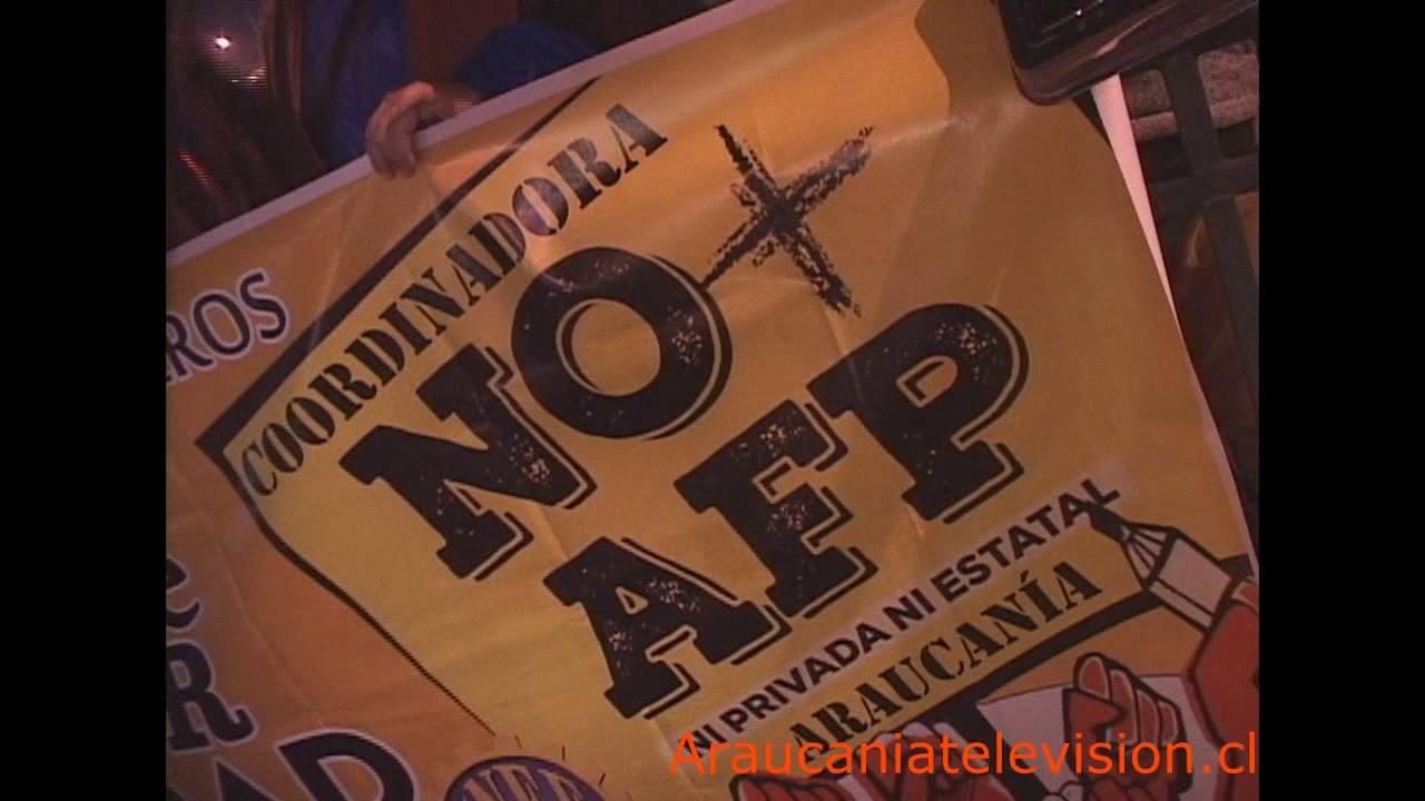 Vecinos de Temuco se manifiestan con cacerolazo contra las AFP