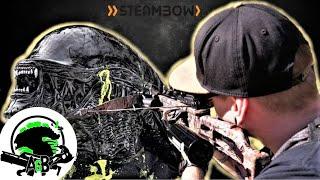 This Crossbow is a Xenomorph killer! AlienGoBoom