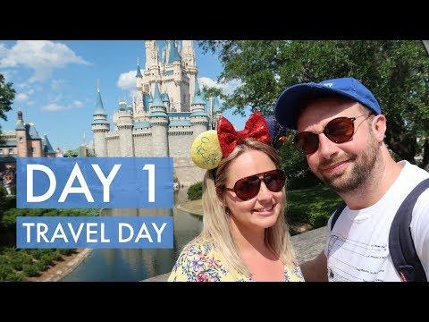 FLORIDA DAY 1 | TRAVEL DAY | GATWICK TO AVANTI RESORT | MAY 2018