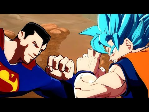DragonBall FighterZ Mod: Superman vs Goku Gameplay - Developed by Mastaklo