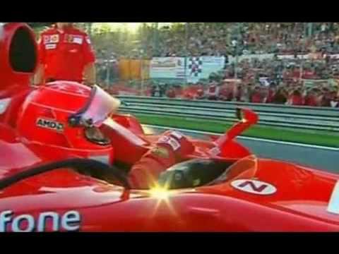 Michael Schumacher´s last lap with Ferrari Formel 1