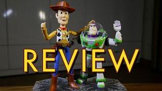 Review Woody & Buzz Lightyear mô hình - Toy Story 4 Bandai Model Kit [tiếng Việt]