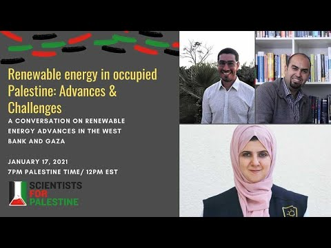 Renewable Energy in Occupied Palestine: Advances and Challenges