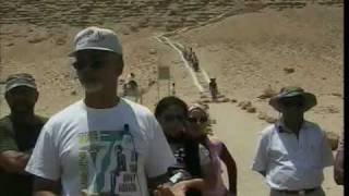 Ashra Kwesi Speaks at the First True Pyramid in Kemet (Egypt), that of Sneferu