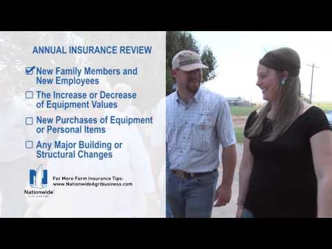 Nationwide Tips 10 Annual Insurance Review