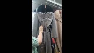 Видео Женские пальто Турция оптом от 60$ до 170$, распродажа 1000 рублей