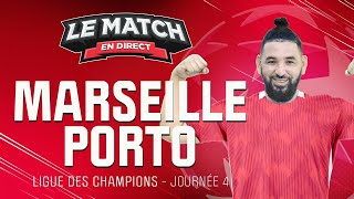🔴 Marseille - Porto avec Momo Henni ! (LDC) / Le Match en direct (Football)