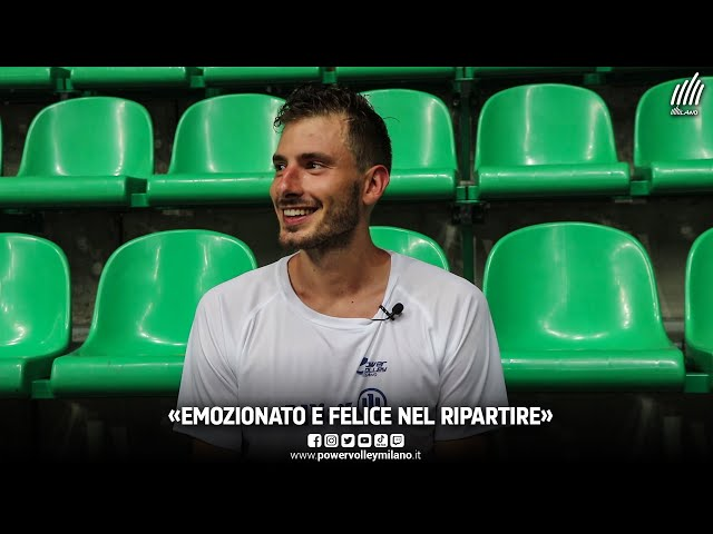 Ritiro Cuneo, intervista a Matteo Piano