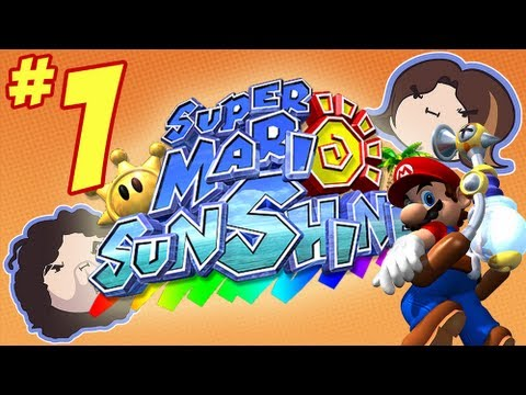 Super Mario Sunshine: Let\'s Go Swimming - PART 1 - Game Grumps
