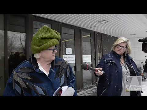 Geraldine Castle-Trudel, lawyer for Ian Bush, leaves the Ottawa Courthouse