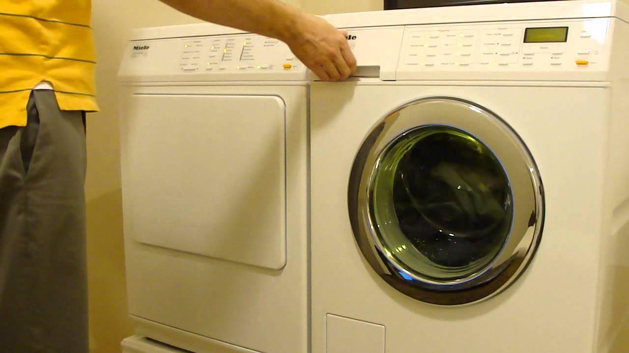 Miele Washing Machine >> Miele Washing and Drying - YouTube