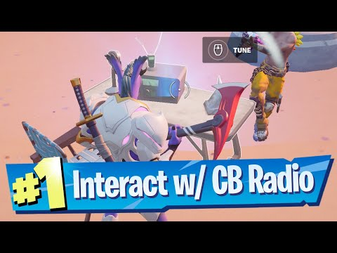 Interact with a CB Radio Location - Fortnite (Week 5)