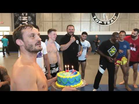 ATT Celebrates Brad Pickett's Final Training Camp