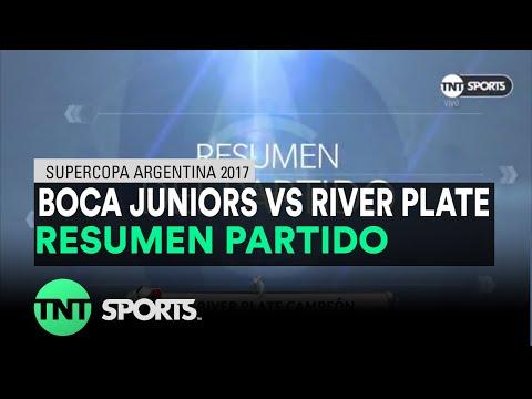 Resumen de Boca Juniors vs River Plate (0-2) | Supercopa Argentina 2017