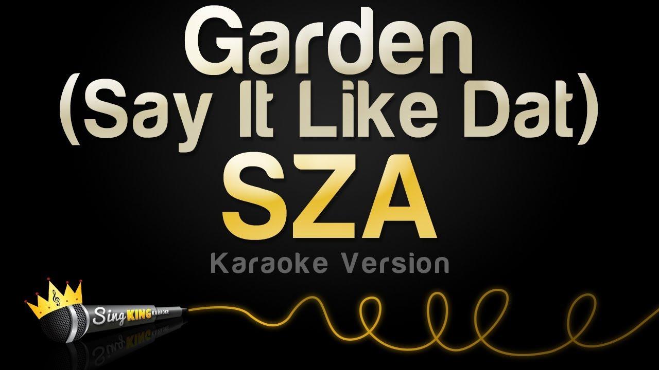 SZA - Garden (Say It Like Dat) (Karaoke Version)