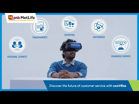 conVRse, PNB MetLife's Virtual Reality Customer Service Platform