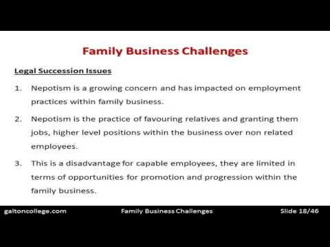 N4201B  Family Business Challenges