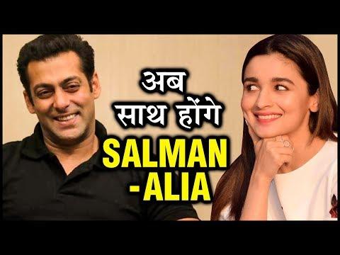 Salman Khan CONFIRMS Working With Alia Bhatt And Sanjay Leela Bhansali