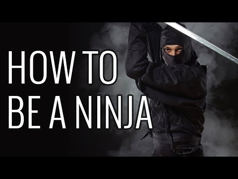 How To Be a Ninja - EPIC HOW TO - YouTube