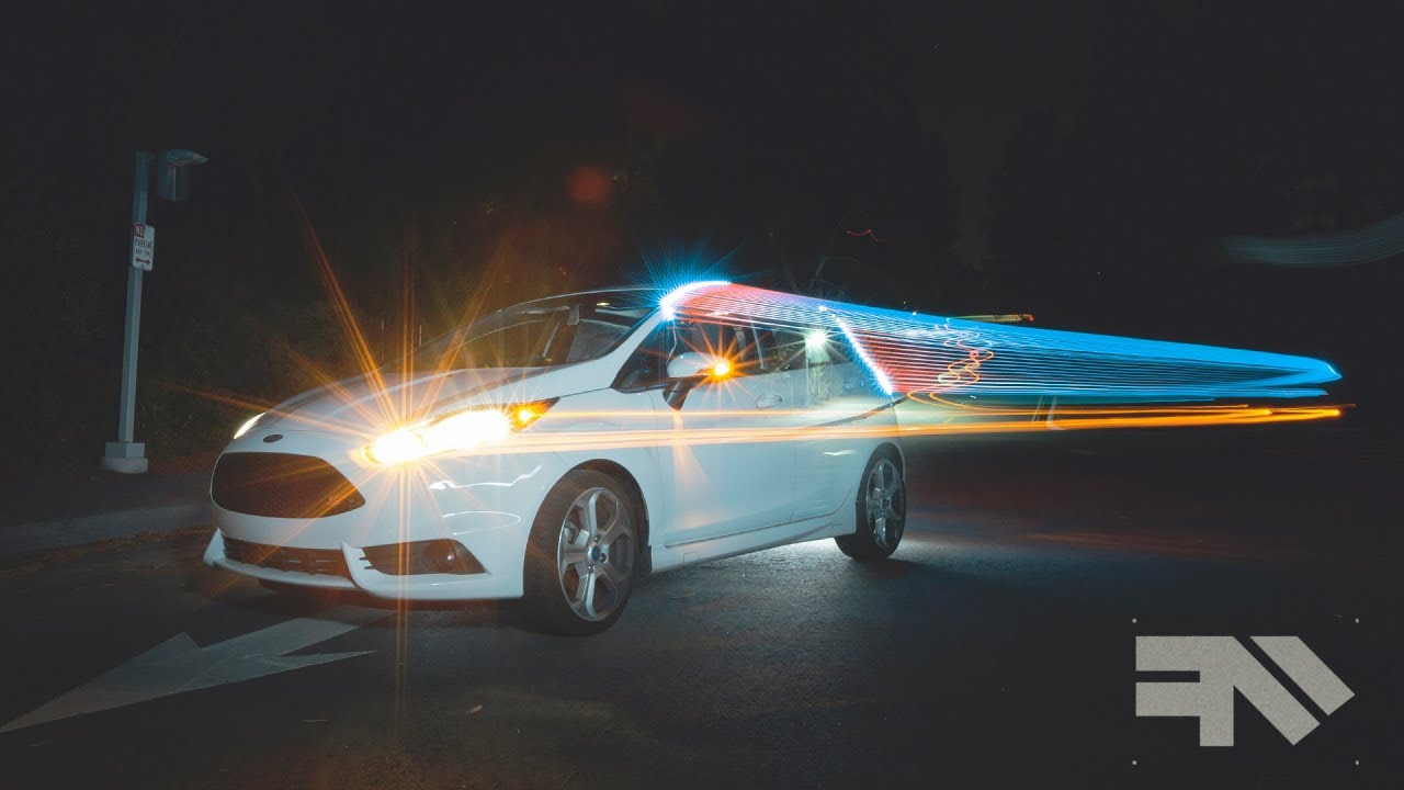 Light Painting Cars Tutorial