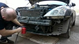 "Промывка радиаторов на Nissan Teana - 2 MIKK'a name ""Lilu"""