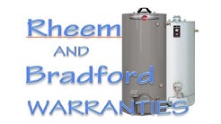 Rheem and Bradford White Water Heater Warranty (Detailed Comparison)